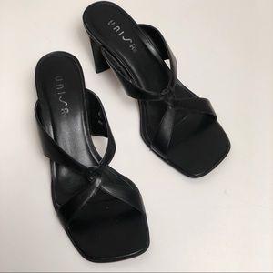 Vintage Unisa Square Toe Heel Genuine Leather 7.5